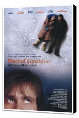 Eternal Sunshine of the Spotless Mind - 27 x 40 Movie Poster - Style A - Museum Wrapped Canvas