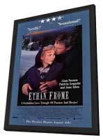 Ethan Frome - 11 x 17 Movie Poster - Style A - in Deluxe Wood Frame