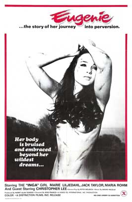 Eugenie... the Story of Her Journey Into Perversion - 11 x 17 Movie Poster - Style A