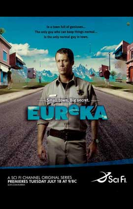 Eureka (TV) - 11 x 17 TV Poster - Style A