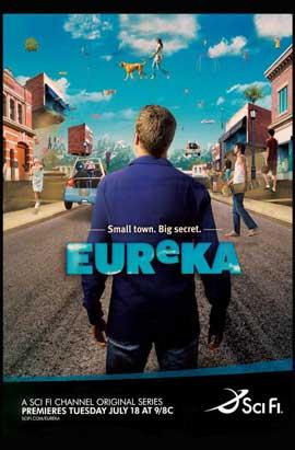 Eureka (TV) - 11 x 17 TV Poster - Style B