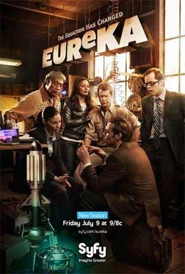 Eureka (TV) - 11 x 17 TV Poster - Style D
