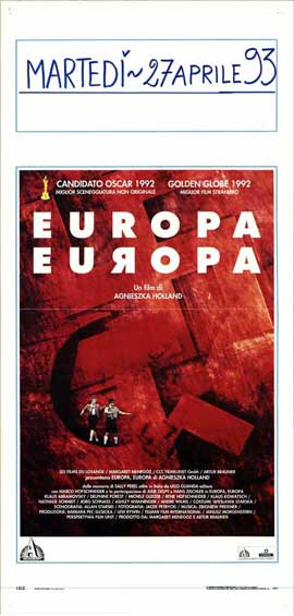 Europa Europe - 13 x 28 Movie Poster - Italian Style A