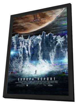 Europa Report - 27 x 40 Movie Poster - Style A - in Deluxe Wood Frame