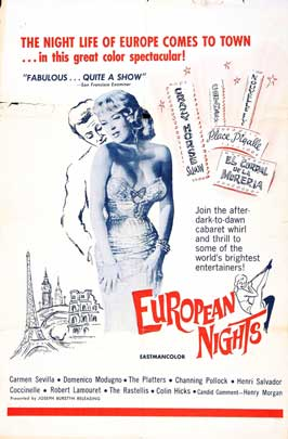 European Nights - 11 x 17 Movie Poster - Style A