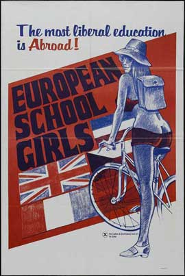 European School Girls - 27 x 40 Movie Poster - Style A