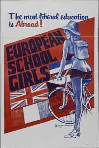 European School Girls - 43 x 62 Movie Poster - Bus Shelter Style A