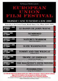 European Union Film Festival - 27 x 40 Movie Poster - Style A
