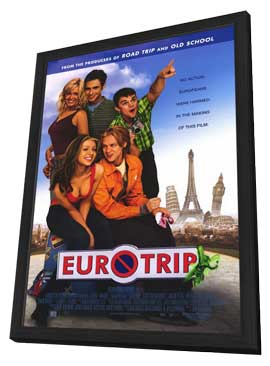 Eurotrip - 11 x 17 Movie Poster - Style A - in Deluxe Wood Frame
