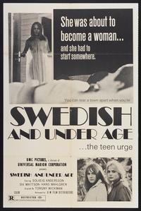 Eva: Swedish and Underage - 11 x 17 Movie Poster - Style A