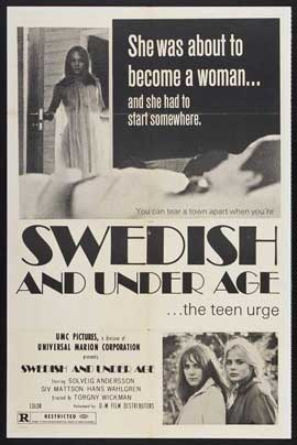 Eva: Swedish and Underage - 27 x 40 Movie Poster - Style A