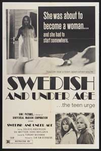 Eva: Swedish and Underage - 43 x 62 Movie Poster - Bus Shelter Style A