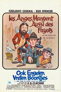 Even Angels Eat Beans - 11 x 17 Movie Poster - Belgian Style A