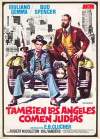 Even Angels Eat Beans - 27 x 40 Movie Poster - Spanish Style A
