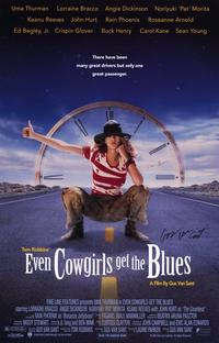 Even Cowgirls Get the Blues - 11 x 17 Movie Poster - Style B