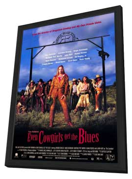 Even Cowgirls Get the Blues - 11 x 17 Movie Poster - Style A - in Deluxe Wood Frame