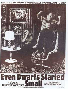 Even Dwarfs Started Small - 11 x 17 Movie Poster - Style A