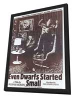 Even Dwarfs Started Small - 11 x 17 Movie Poster - Style A - in Deluxe Wood Frame
