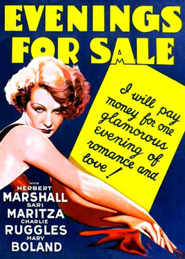 Evenings for Sale - 11 x 17 Movie Poster - Style A