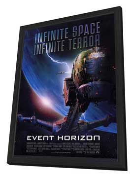 Event Horizon - 27 x 40 Movie Poster - Style A - in Deluxe Wood Frame