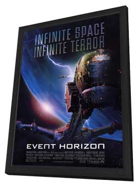 Event Horizon - 11 x 17 Movie Poster - Style B - in Deluxe Wood Frame