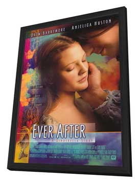 Ever After: A Cinderella Story - 27 x 40 Movie Poster - Style A - in Deluxe Wood Frame