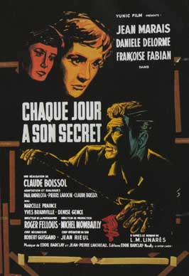 Every Day Has Its Secret - 11 x 17 Movie Poster - French Style A