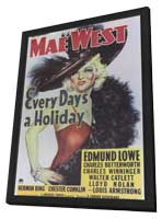 Every Day's a Holiday - 11 x 17 Movie Poster - Style A - in Deluxe Wood Frame