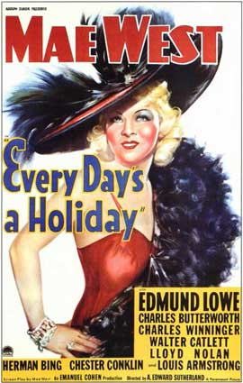 Every Day's a Holiday - 11 x 17 Movie Poster - Style B