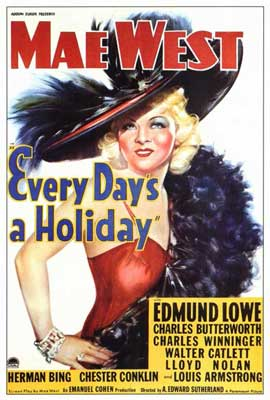 Every Day's a Holiday - 27 x 40 Movie Poster - Style B
