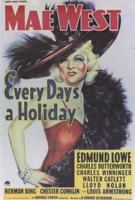 Every Day's a Holiday - 27 x 40 Movie Poster - Style A