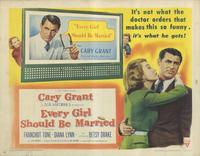 Every Girl Should Be Married - 11 x 14 Movie Poster - Style C