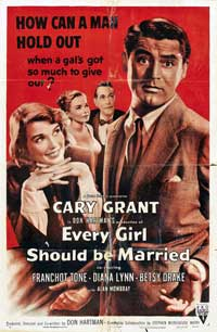 Every Girl Should Be Married - 11 x 17 Movie Poster - Style B