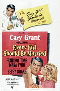 Every Girl Should Be Married - 11 x 17 Movie Poster - Style C