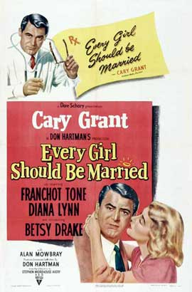 Every Girl Should Be Married - 27 x 40 Movie Poster - Style C