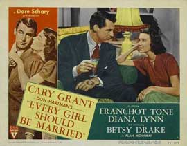 Every Girl Should Be Married - 11 x 14 Movie Poster - Style G