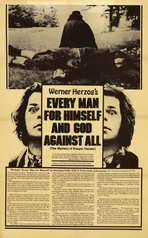 Every Man for Himself & God Against All - 11 x 17 Movie Poster - Style A