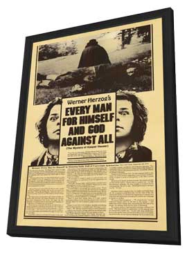 Every Man for Himself & God Against All - 27 x 40 Movie Poster - Style A - in Deluxe Wood Frame