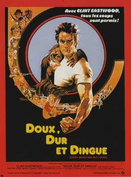 Every Which Way But Loose - 11 x 17 Movie Poster - French Style A