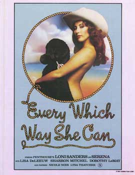 Every Which Way She Can - 27 x 40 Movie Poster - Style A