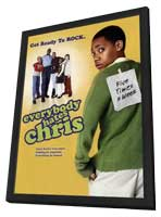 Everybody Hates Chris - 11 x 17 TV Poster - Style C - in Deluxe Wood Frame