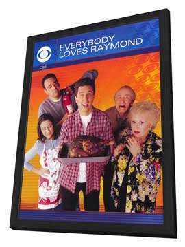 Everybody Loves Raymond (TV) - 11 x 17 TV Poster - Style D - in Deluxe Wood Frame