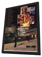 Everyone Says I Love You - 27 x 40 Movie Poster - Style A - in Deluxe Wood Frame