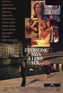 Everyone Says I Love You - 11 x 17 Movie Poster - Style A