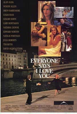 Everyone Says I Love You - 27 x 40 Movie Poster - Style A