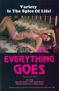 Everything Goes - 27 x 40 Movie Poster - Style A