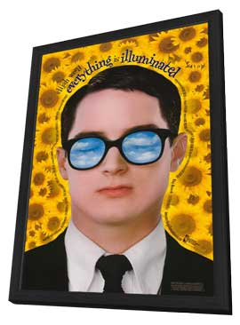 Everything Is Illuminated - 11 x 17 Movie Poster - Style D - in Deluxe Wood Frame