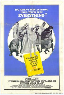 Everything You Always Wanted to Know about Sex (But Were Afraid to Ask) - 27 x 40 Movie Poster - Style A