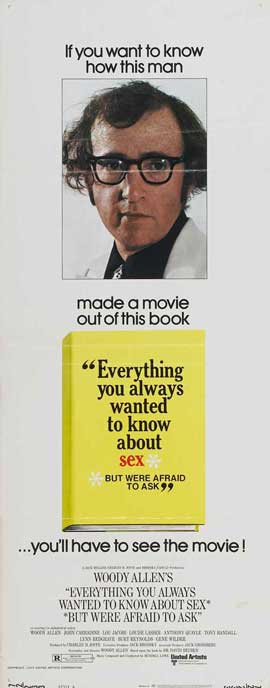 Everything You Always Wanted to Know about Sex (But Were Afraid to Ask) - 14 x 36 Movie Poster - Insert Style A