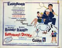 Everythings Ducky - 22 x 28 Movie Poster - Half Sheet Style A
